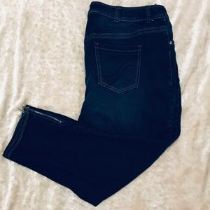 Lane Bryant ankle length jeans